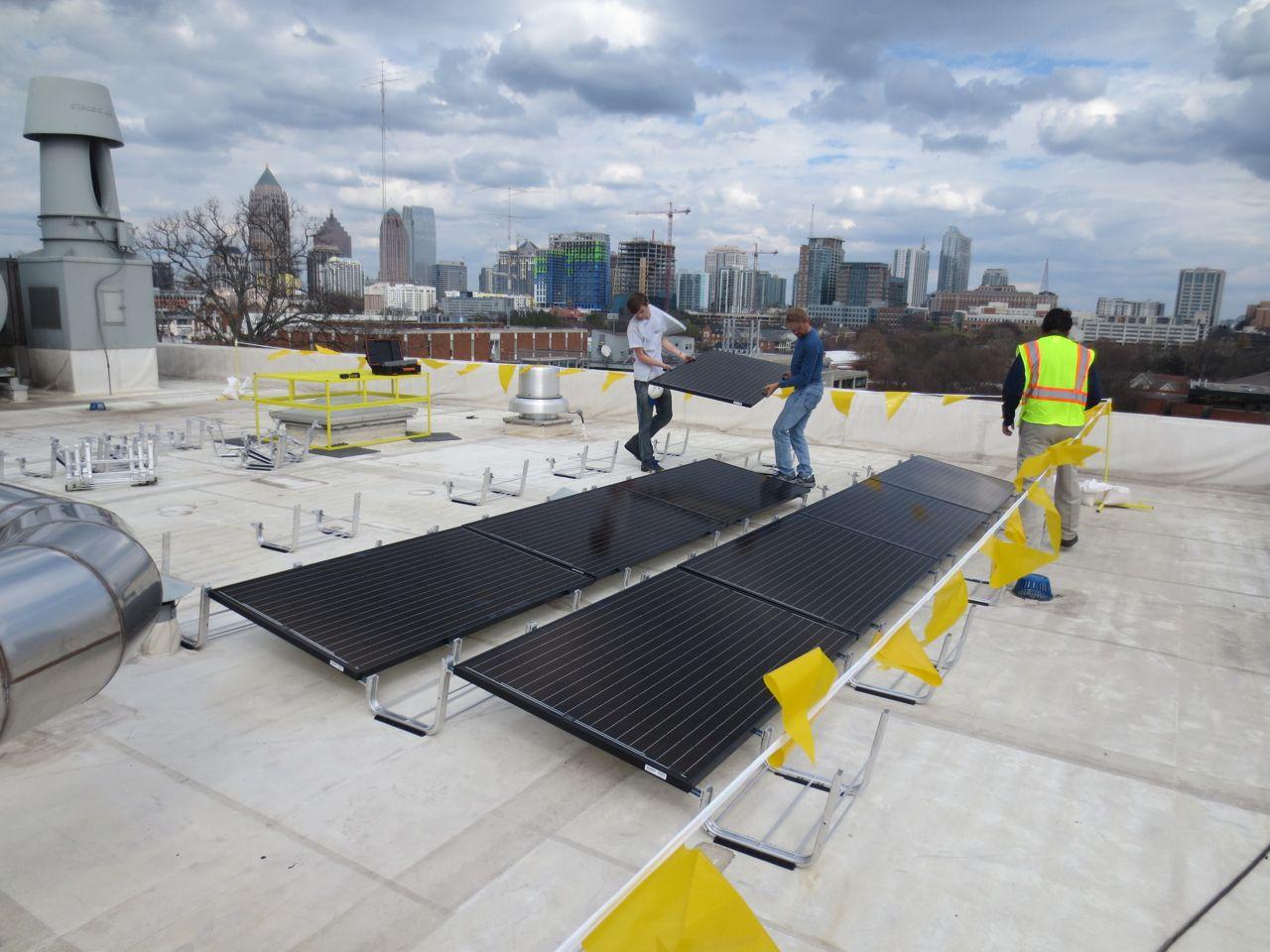 Georgia Tech - Bunger Henry Solar Array