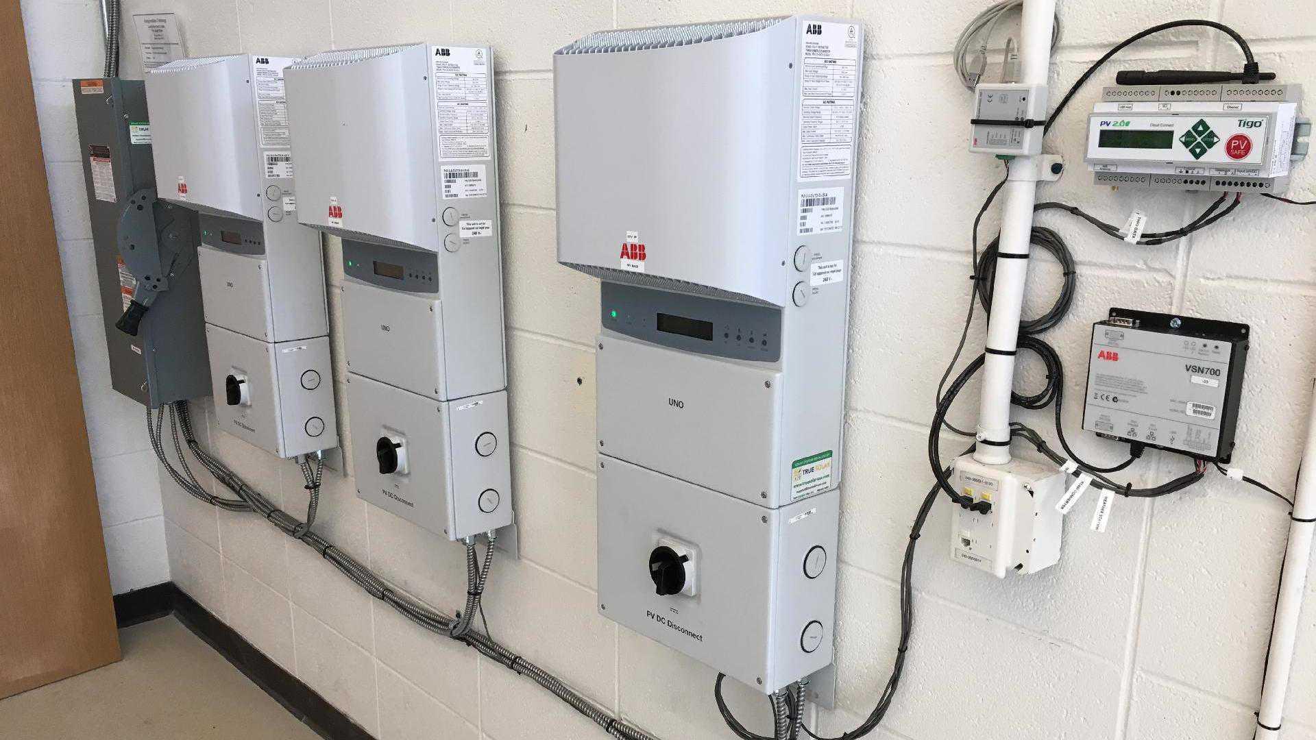 Georgia Tech Bunger Henry Solar Array Abb Circuit Breaker Wiring Diagram Power Final System Photo Gallery